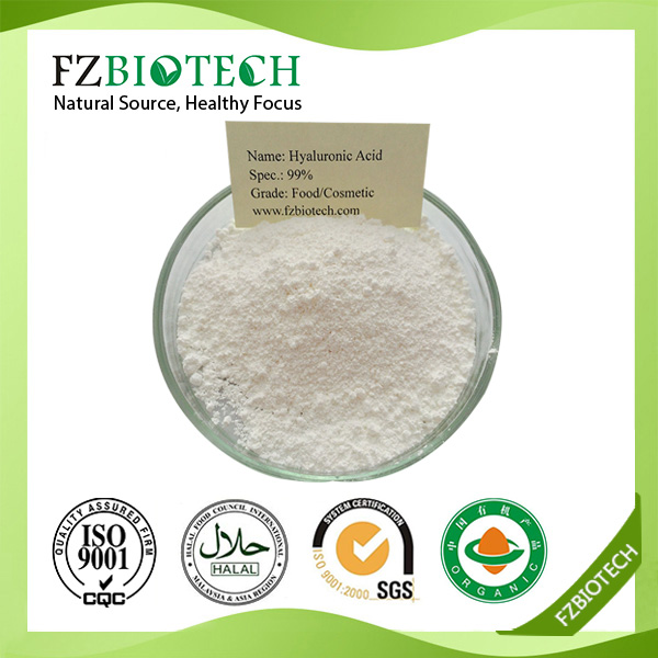 100% pure wholesale hyaluronic acid best price HA, top quality hyaluronic acid powder