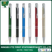 First A009 Writing Instruments,Classic Metal Cheap Logo Pens
