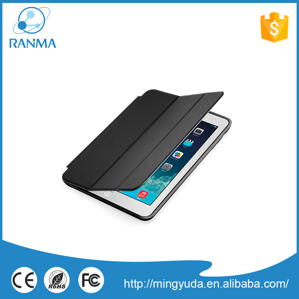 China wholesale customized flip pu leather case for ipad mini