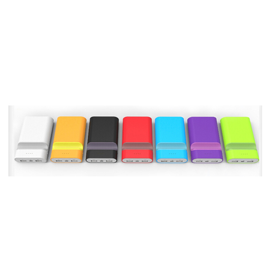 colorful portable battery bank 6600mah power bank for samsung galaxy tab