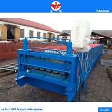 Portable metal roofing double layer roller former making machines