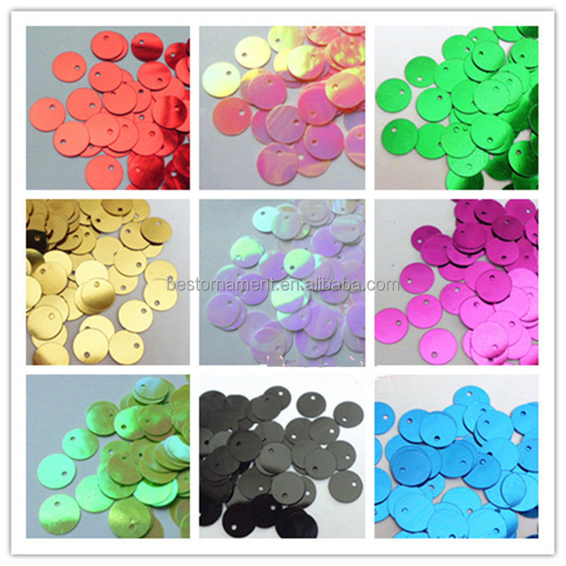 AB Multicolor Flat DIY Costume Craft Decoration Sewing Paillettes Sequin