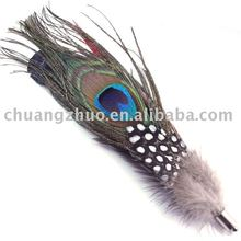 Fashion Natural Purple Ostrich Feather supplier