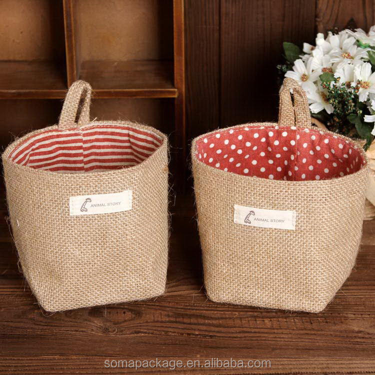 Best quality new style big jute bags sugar
