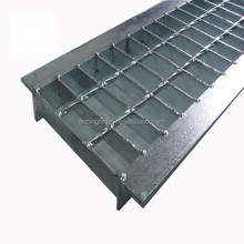 china rain water drainage trench drain systerm steel grating polymer concrete gutter
