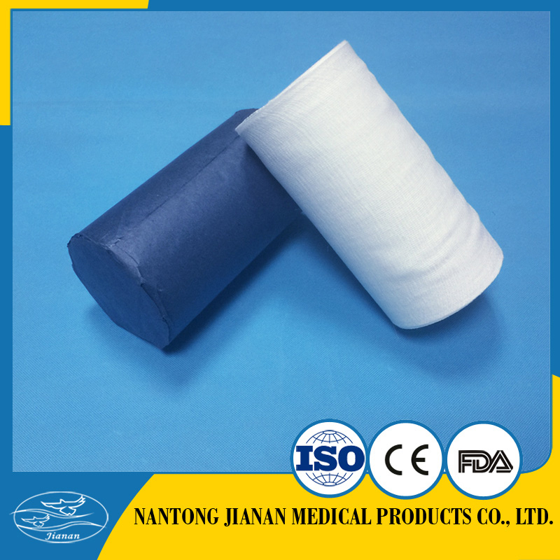 JA000115 100% cotton medical absorbent gauze roll With Long-term Service