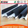 pvc shipping container door gasket for weather sel strip