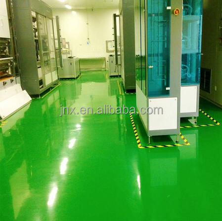 Anti-wear epoxy resin flooring two-compound self leveling industrial epoxy resin flooring