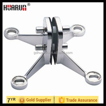 frameless glass spider,mirror spider clamp, wall mounting glass hardware