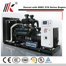 PETTER DIESEL GENERATOR 600KW/750KVA SC27G ENGINE SET FOR KUWAIT WATER PUMP