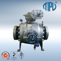 Pipeline Top Entry Flange Stainless Steel Pig Ball Valve