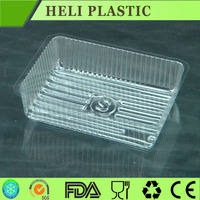 plastic cake packaging container /tray/dish