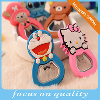 high quality micro injection cute vinyl 3d effect custom beer cap remover rubber cover cheap