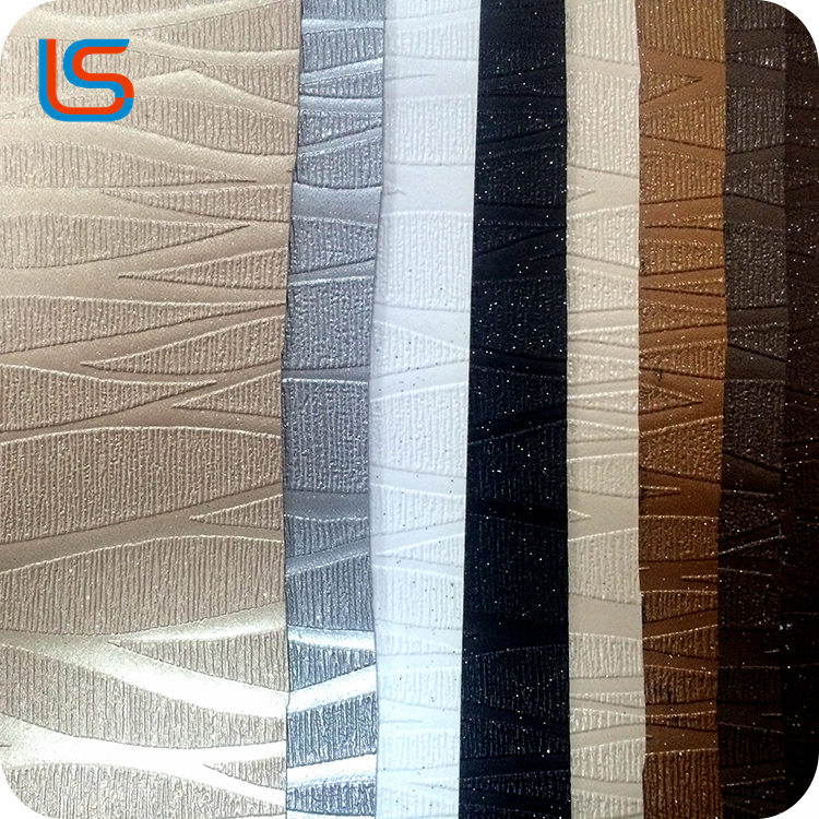 wholesale manufacturer good quality PVC synthetic leather for furniture upholstery