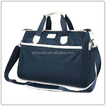 High quality 600d polyester unisex fitness sports travel bag in shenzhen