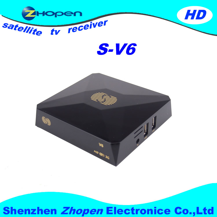 best tv channel decoder s-v6 support 3g wifi