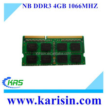 Computer parts ddr3 1066 mhz 4 gb for low rate