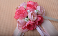 High quality Wholesale cheap wedding decor wrist corsage