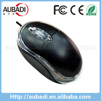 high quality factory direct custom wired optical silent mouse