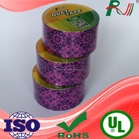 colorful widely used safety bumper duct tape