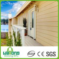 Wood plastic splinter free weather resistant wpc highlight wall tiles