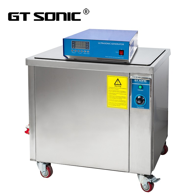 GT SONIC 24 hours working ultrasonic diesel particulate filter cleaning with wheel