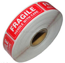 500 Labels 1x3 FRAGILE Handle with Care Shipping Mailing Stickers