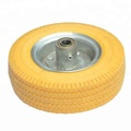 6 Inch PU Foam Wheel For Trolley