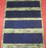 50W folding solar panel for army or camping