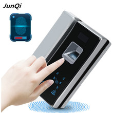 English language fingerprint keypad entrance door lock