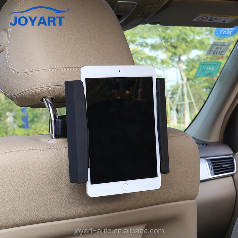 Nice mini 4 car back seat headrest tablet vehicle mount holder for ipad