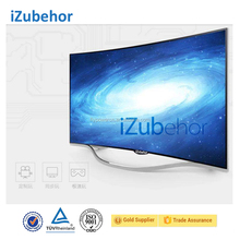 Izubehor 2017 super cheap 55inch curved 4KUHD 2160P smart ELED TV with great original panel curved TV