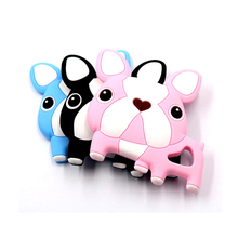 Factory Wholesale Food Grade Silicone Baby Molar Stick Baby Teething Dog Teether Toy