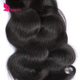 Overnight Virgin Brazilian Human Hair Weave Bundles