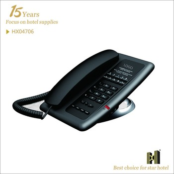 Guest Room Use Black or White Color hotel telephone