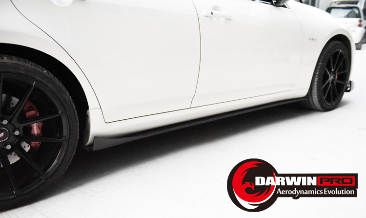 2010-2013 G35 /G37 Bs Carbon Fiber Side Skirts Under Board For Infiniti