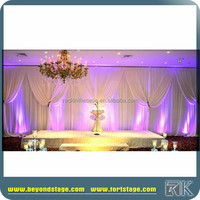 portable pipe and drape event ceiling drapery for wedding party tent