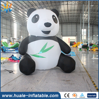 2016 top sale giant inflatable panda, inflatable kung fu panda, inflatable panda movies