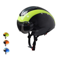streamline design Time trial aero racing bike helmet with CE