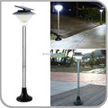 Ultra Bright Solar Outdoor Post Light with 60 SMD LED 2 Brightness for Landscape Street Garden Yard Pathway (CB-D622-60LED)
