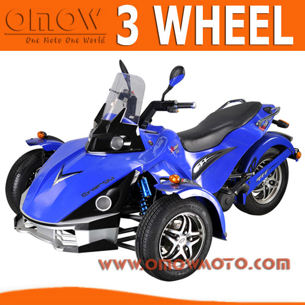 Road Legal 7KW Electric 3 Wheel Motorcycle