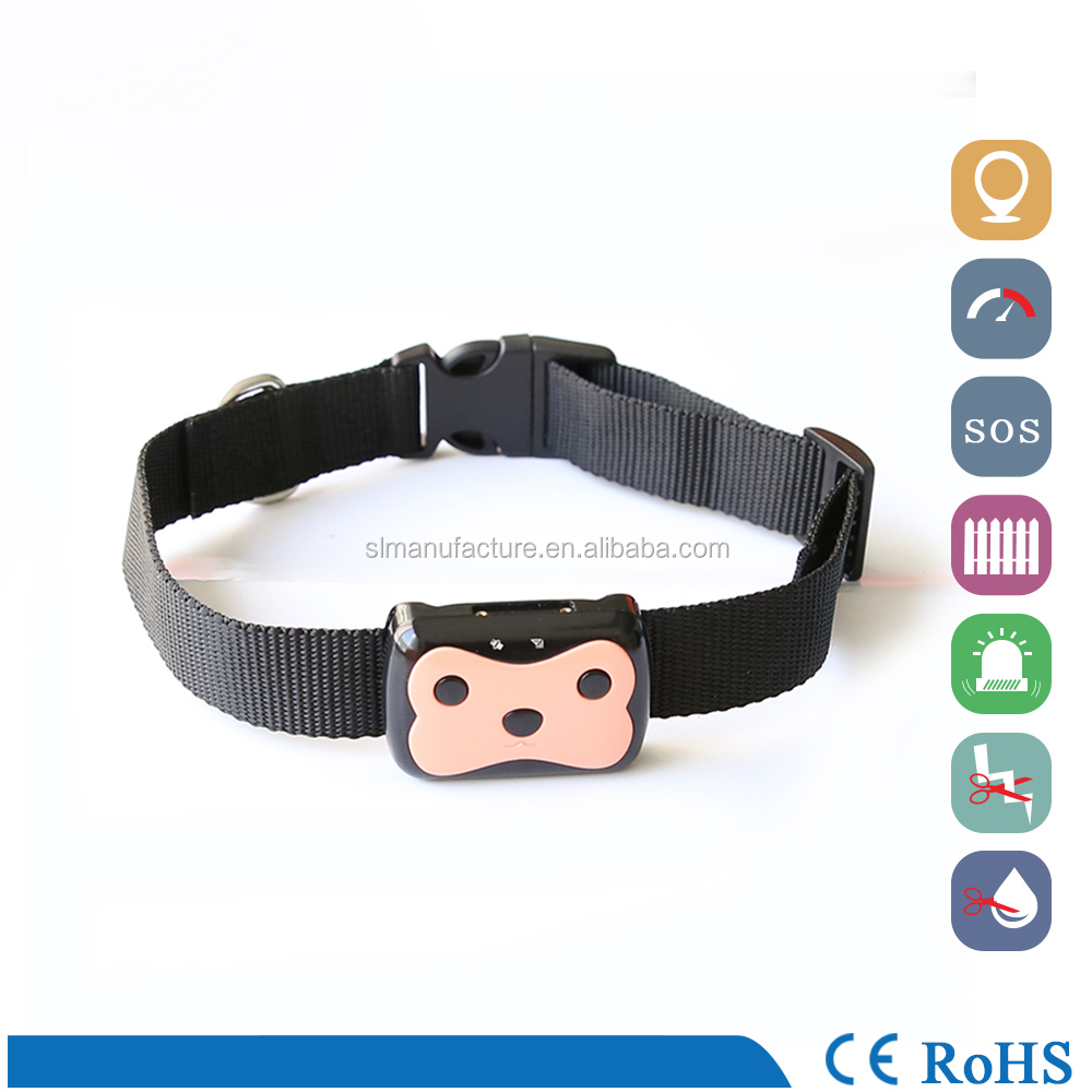 Top quality cheap waterproof IP67 bluetooth anti-lost samal pet gps tracker