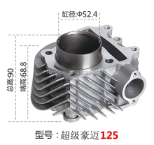 super gy6-125 motorcycle engine parts and motorcycle cylinder cast and motorcycle 125cc