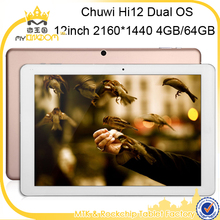 12inch 1.84Ghz Dual System Tablet pc High quality Chuwi Hi12 Intel X5 Atom Z8300