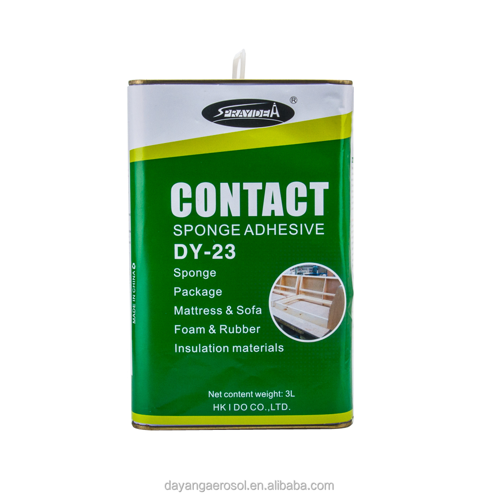 No Chlorine -Based Contact Silicone Adhesive DY-23 for Rubber Sponge