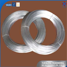 Manufacture 4-32# gauge iron steel GI electro galvanized wire