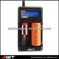 multi use intelligent LCD battery charger + cell phone charger