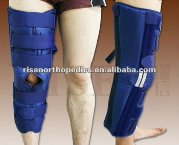 Leg Immobilizer with cotton backing FDA CE ISO