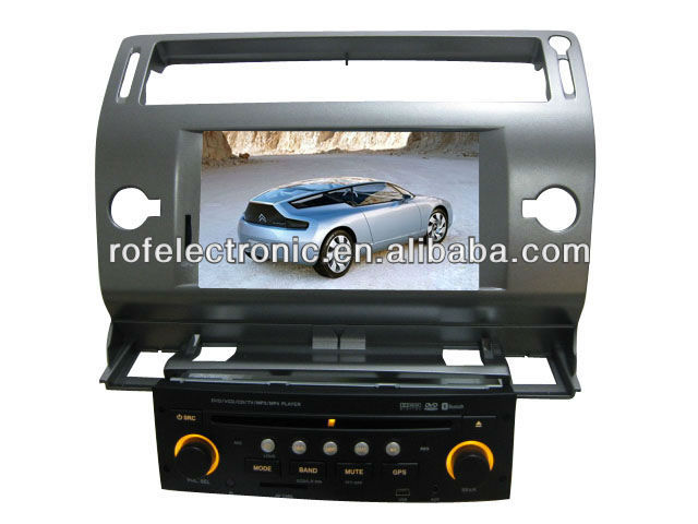 Car DVD GPS Sat Navigation For citroen C4/C-Quatre/C-Triumph