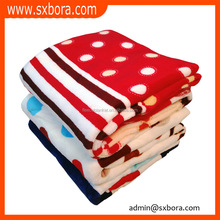 sxbora china wholesale world class super soft blanket bulk Wholesale soft printed plain flannel fleece blanket